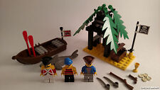 Lego Pirates 6258 Smuggler's Shanty 100% Complete RARE RETIRED Free Shipping!