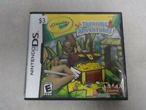 Crayola Treasure Adventures Nintendo DS Video Game Complete Free Ship