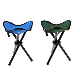 Soft Inflatable Camping Chair Foldable Ultralight Stool Outdoor Backyard
