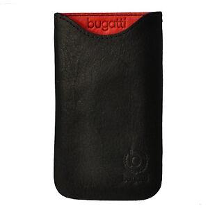 Bugatti Tasche Skinny Ledertasche 07949 Größe M, schwarz für iPhone 3G, 3GS