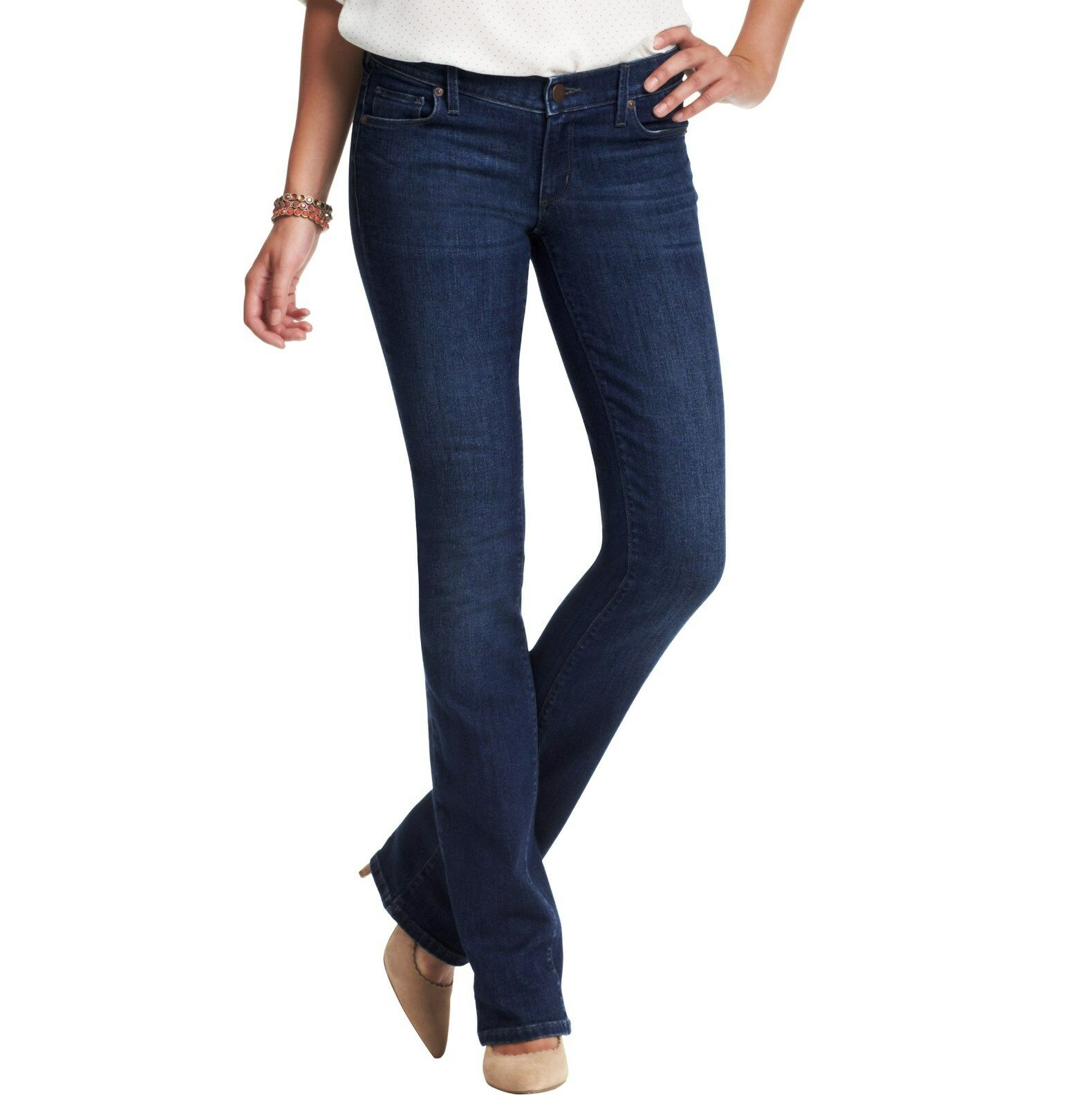 NWT Ann Taylor Loft Petite Modern Sexy Boot Jeans in Winded bluee Wash 00P v