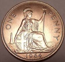 Great Britain Penny, 1964, Britannia seated right