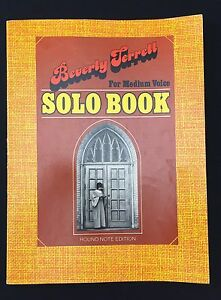 Details about Vtg 1970s Gospel Song Book Beverly Terrell Solo For Medium  Voice Round Note Ed