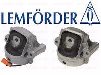Lemforder Set Of 2 Audi A4 A5 Left + Right Motor Mount's 4-cylinder