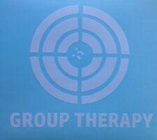 Gun Pistol Target Shooting Decal Bullseye Group Therapy Car Truck Window Sticker