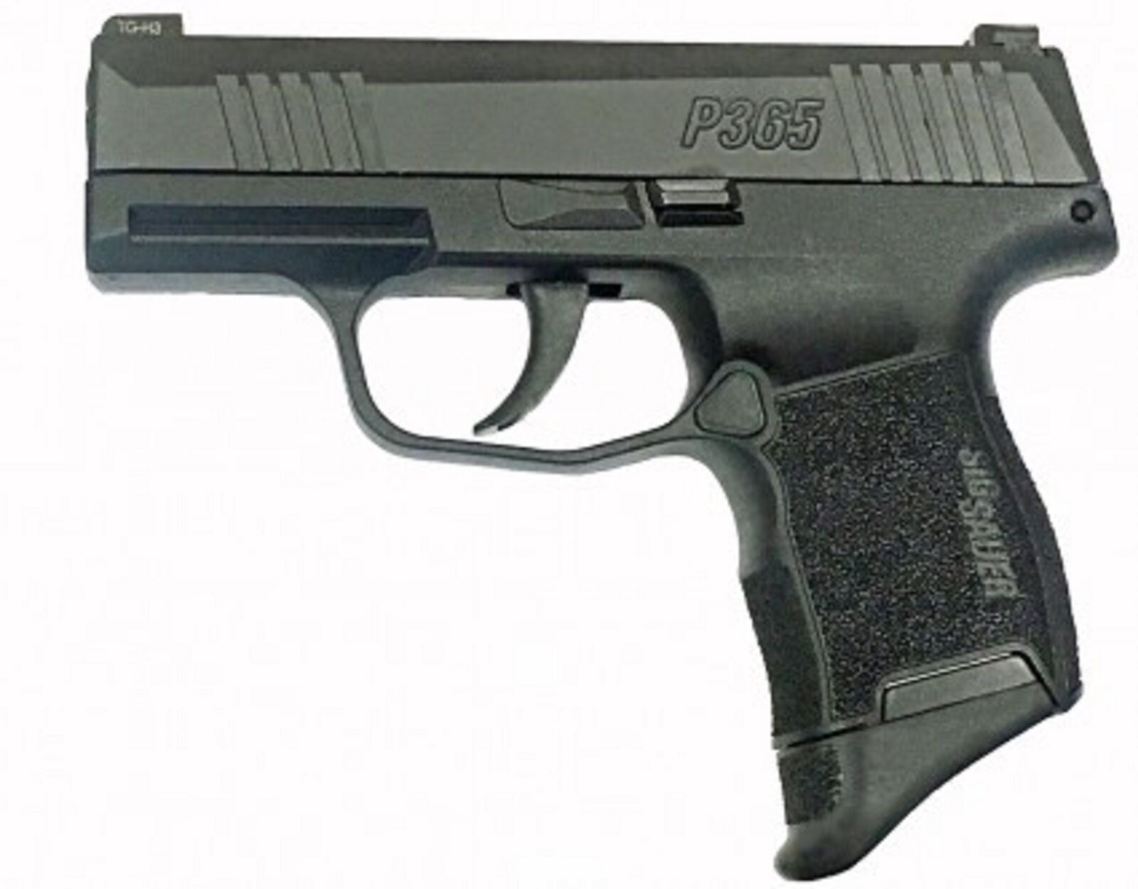 Pearce Grips Inc PG365 Polymer Grip Extension for Sig P365 - Black Matte