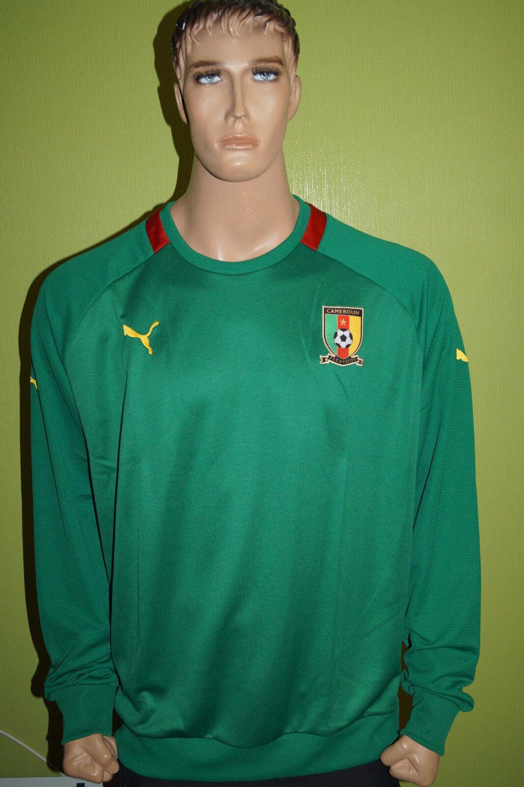PUMA CAMEROON Kamerun Fussball Soccer Shirt M-L-XL-XXL
