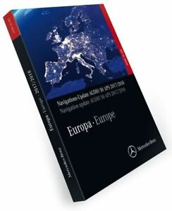 DVD-GPS-Mercedes-Benz-DVD-Audio-50-APS-NTG4-204-Europe-V18-2018-NEW-NEW