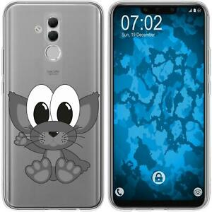 Huawei-Mate-20-Lite-Coque-en-Silicone-Cutiemals-M5-Case-films-de-protection