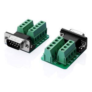 RS232-D-SUB-DB9-Stecker-Adapter-zum-Terminal-Anschluss-Signal-Modul-GN