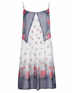 EX MARKS AND SPENCER  M/&S  Summer Holiday Chiffon Dress