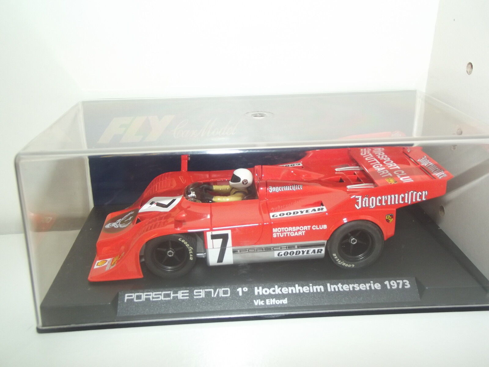 PORSCHE 917 10 1° HOCHENHEIM INTERSERIE 1973-FLY CAR COLLECTION-SLOT-1 32--E22