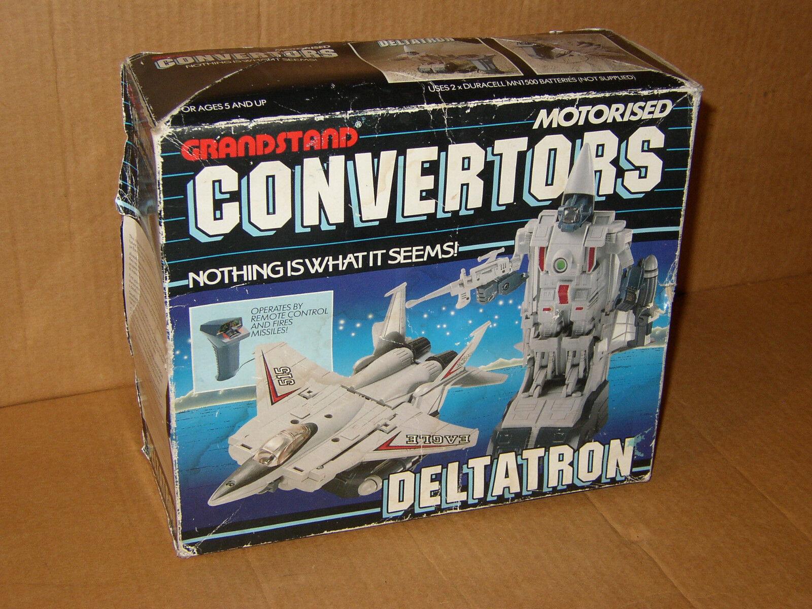 DELTATRON Boxed 100% Vintage Grandstand Congreenors Transformers