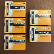 50 DURACELL INDUSTRIAL PROCELL AA batteria alcalina 1.5v mn1500 lr6 MIGNON STILO