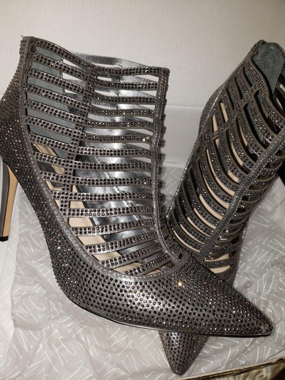 Incluido International Concept Botines Botines Botines 11M botas al Tobillo Zapatos Peltre  Ultra Destellos   ventas en linea