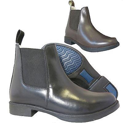 Lava Ghiacciaio Pelliccia Con Equitazione Equestre In Finta Pelle Plain Jodhpur Boot-