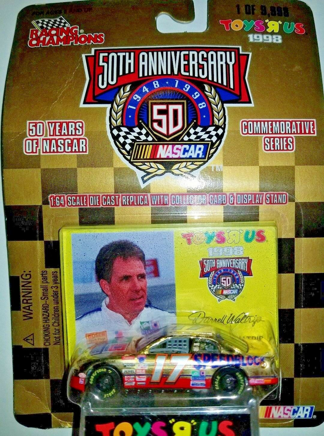 Racing Champions NASCAR 50th Chevy Monte Carlo - gold Commemorative -