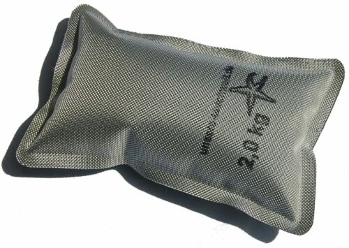 SOFTGewichte 0,5kg  1kg  2kg wie Softblei ABC & Blei Blei & Bleigürtel Tauchblei Gewichte zum Tauchen silber