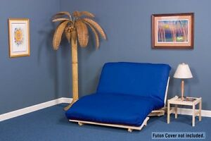 Medium image of image is loading futon package tri fold futon lounger includes hardwood
