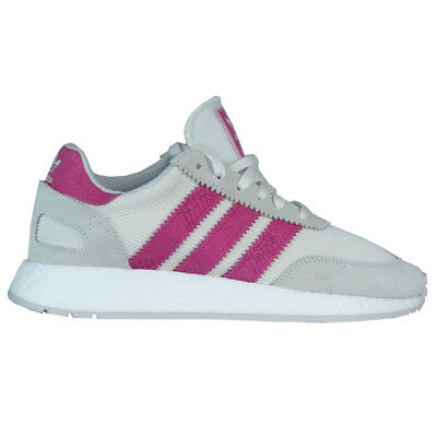 Adidas Originals I-5923 Schuhe Damen Iniki grau/pink D96618   eBay