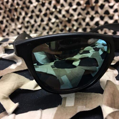 Black w// Mirror Lens NEW KM Paintball Sunglasses
