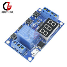 Led Digital Time Delay Relay Auto Timer Control Switch Module With Micro Usb 5v