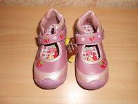 Chaussures Doublure Cuir Charlotte Aux Fraises Rose/lie De Vin Pointure 22 -neuf