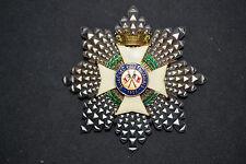 Q3 Superbe médaille grand croix  oeuvre des vieux militaires French MEDAL