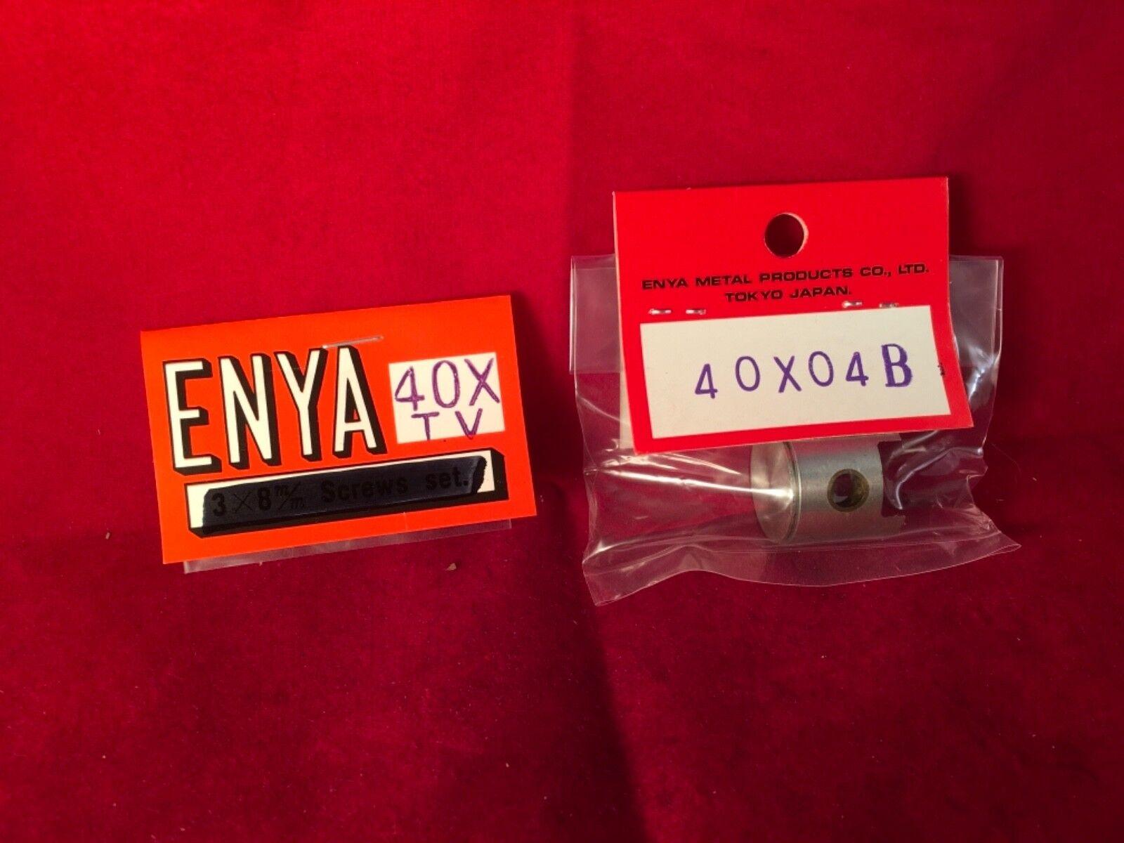 ENYA 40 X PISTON & RING RING RING  ASSY NIP 1f4a3c