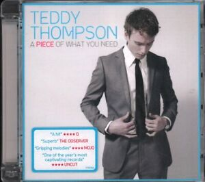 TEDDY THOMPSON A Piece of What You Need CD Europe Verve 2008 12 Track CD Has