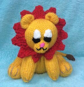 KNITTING PATTERN - Leo the Lion inspired Orange cover ...