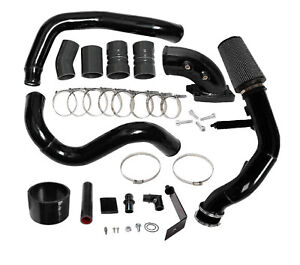 Ford-6-0L-2003-2007-Intercooler-Pipe-Boot-Kit-CAC-Tube-amp-Cold-Air-Intake-Elbow