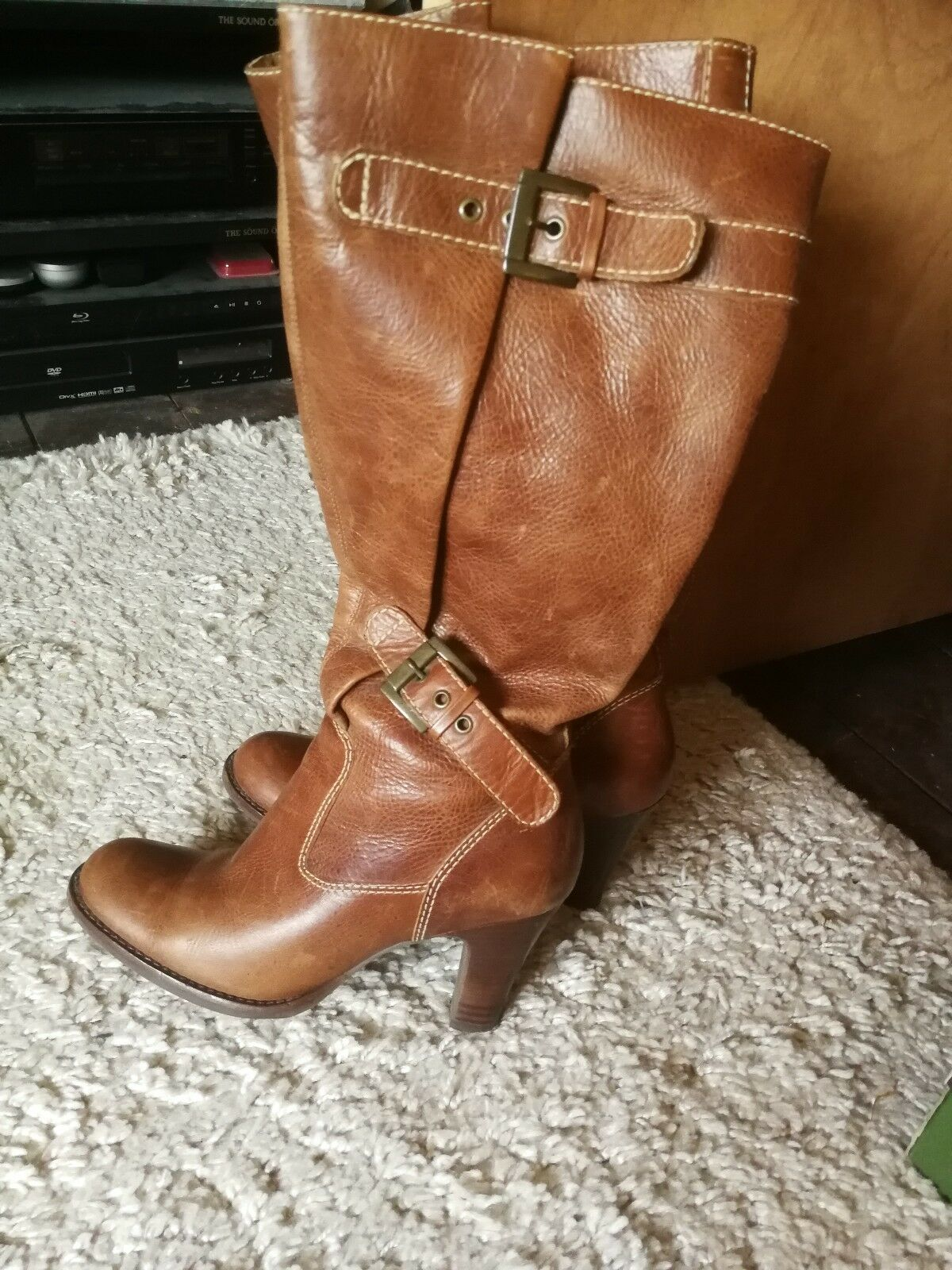 Ladies Leather Boots size 38