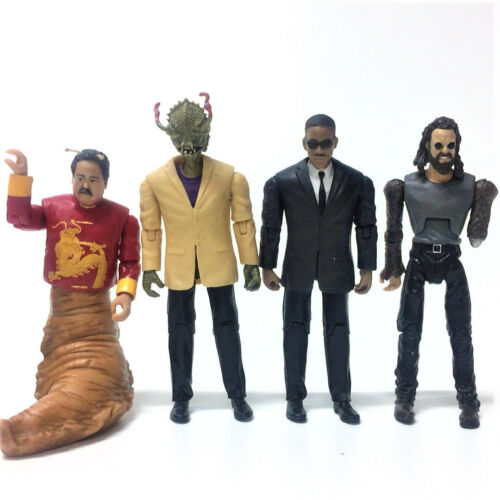 4PCS Men In Black 3 Agent K Boris Stalk Eyes 3.75/'/' Figure Boy kid toy gift