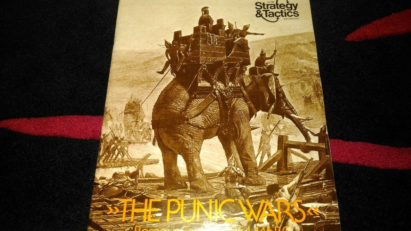 The Punic Wars Rome vs. Carthage 264-146 BC S&T 53 MINT & UNPUNCHED 1998