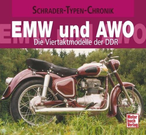 1 von 1 - Rönicke: Schrader-Typen-Chronik EMW und AWO /  (Motorrad) 1. Auflage 2011