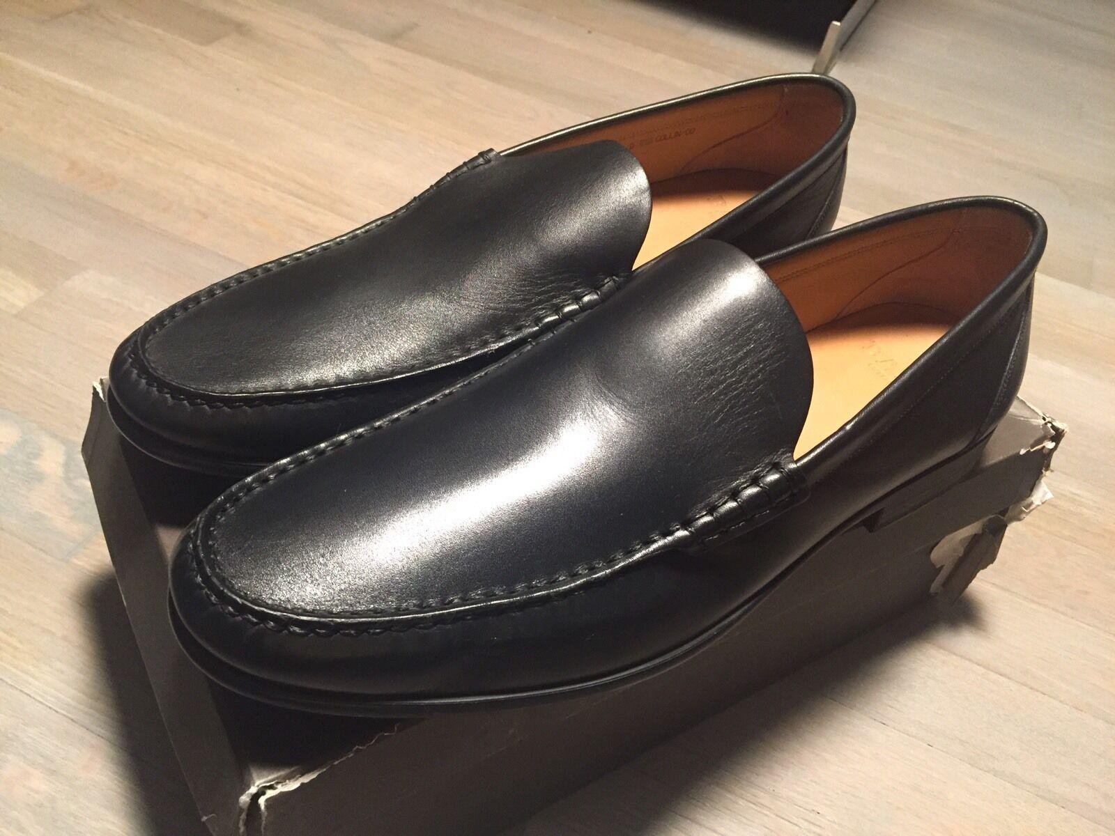buona reputazione 650  Bally nero Collin Leather Loafers Dimensione Dimensione Dimensione US 14 Made in Switzerland  presentando tutte le ultime tendenze della moda