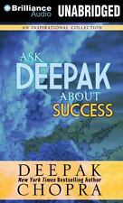 Ask Deepak: Ask Deepak about Success 4 by Deepak Chopra (2015, CD, Unabridged)