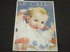 1918 MARCH MCCALL'S MAGAZINE - FASHION ILLUSTRATIONS - CUT OUT PAGE - ST 163
