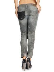 15745530 $525 Authentic Rare DIESEL Women's Matic-K2 0882Z Slim Ankle Length ...