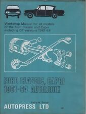 FORD CONSUL CLASSIC 315 & CAPRI CLASSIC 335 (1961-1964) OWNERS WORKSHOP MANUAL