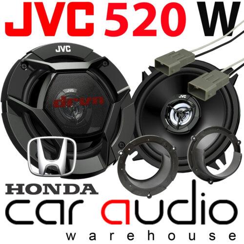 Honda Accord 1999 Onwards JVC 13cm 520 vatios De Puerta Trasera altavoces del coche Kit de montaje