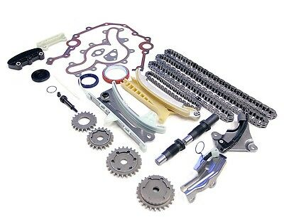 97-11 FORD MERCURY MAZDA 4.0L SOHC TIMING CHAIN KIT W/ COVER GASKET & OIL SEALS