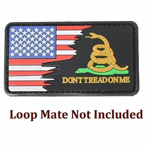 Morale Patch Usa Flag Embroidered American Flag Patch Hook Loop Fastener Backing
