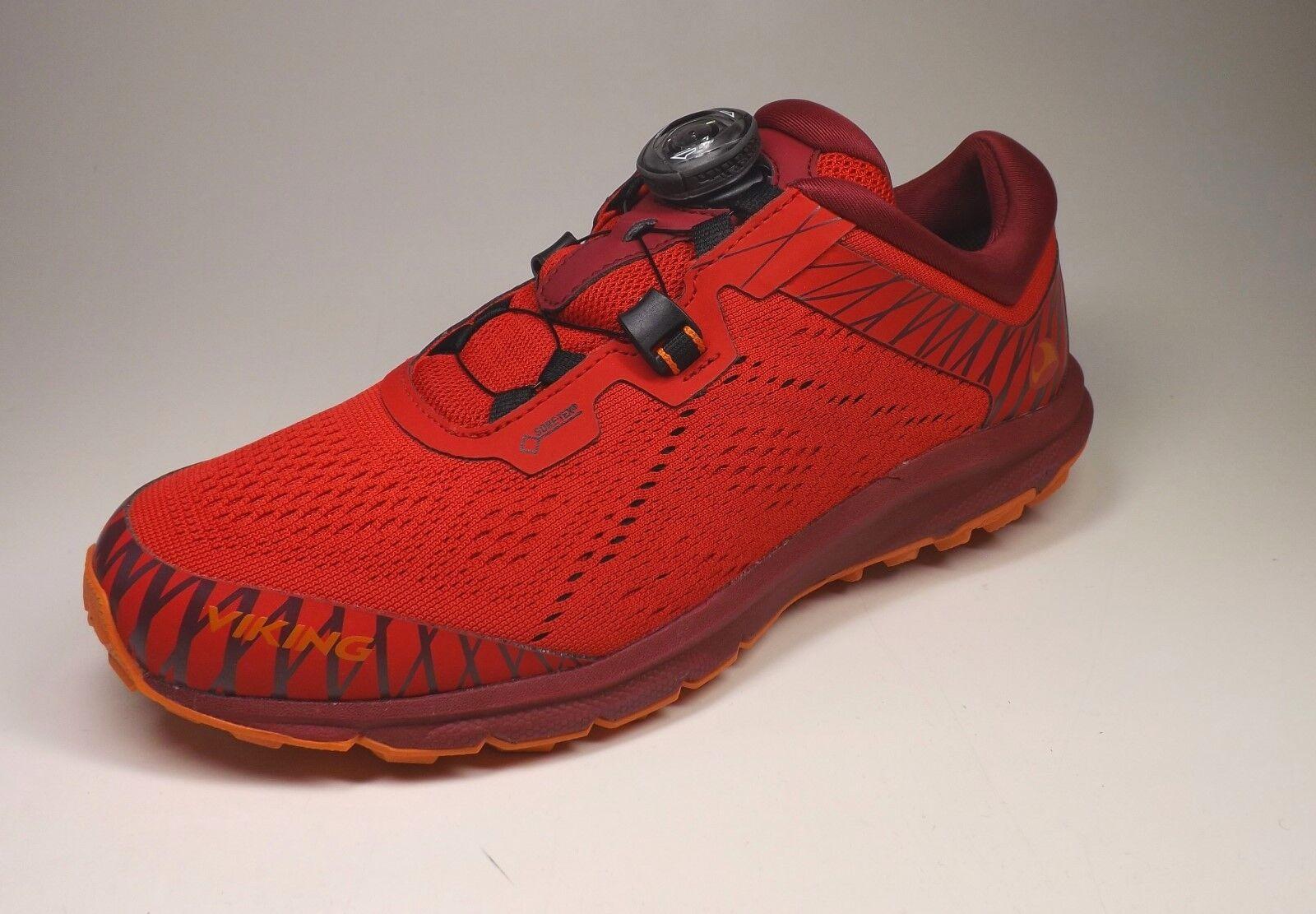 Sistema de cierre de la Viking Apex II GTX mujer zapatillas de montaña con BOA roja