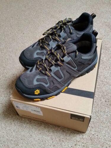 Jack Wolfskin Mountain Attack Homme Imperméable Marche Randonnée Chaussures UK 7.5