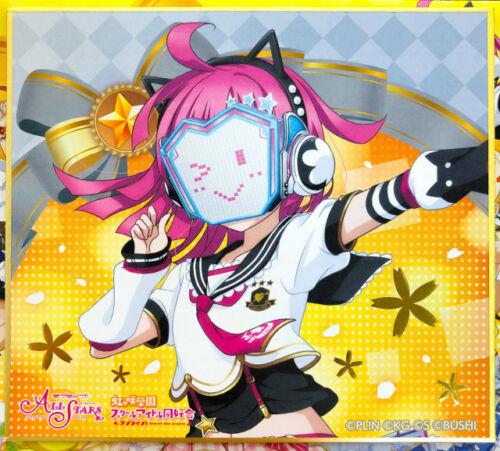 Emma Kanata Karin... Nijigasaki High School Autograph Board Vol.3 Details about  /Love Live