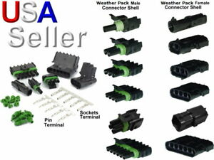 25 Weatherpack Cable Seals For GM 12015193