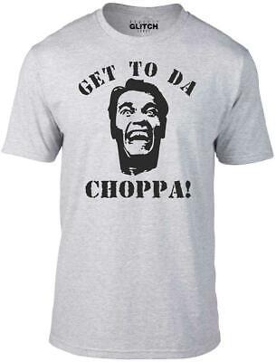 Inspired by Predator film Arnie 80/'s retro sci fi Get to Da Choppa Hoodie