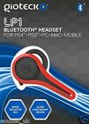 Gioteck LP-1 Bluetooth Chat Auriculares Rojo para Sony PlayStation PS4 PS3 & PC